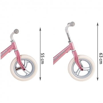 Bike Balance Misure Altezza