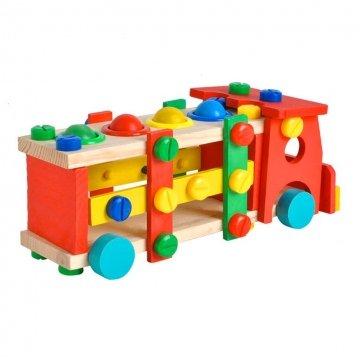 Camion Da Costruire In Legno Per Bambini