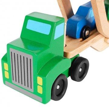 Camion Giocattolo In Legno Dettaglio