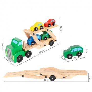 Camion Giocattolo In Legno Dimensioni