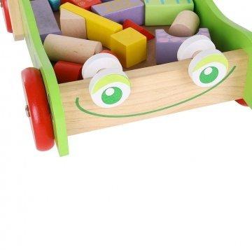 Carrellino Primi Passi Per Bambini In Legno