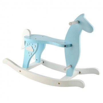 Cavallo A Dondolo In Legno Per Bambini
