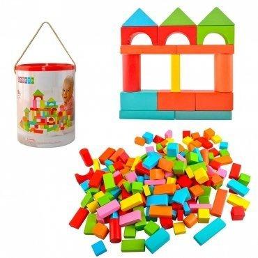 Costruzioni In Legno Per Bambini 200 Blocchi