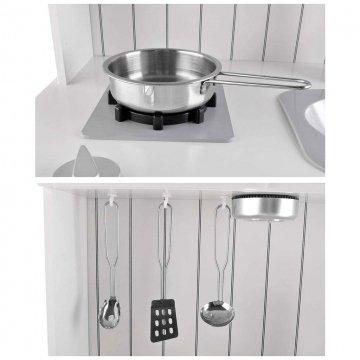 Cucinetta In Legno Per Bambini Con Accessori