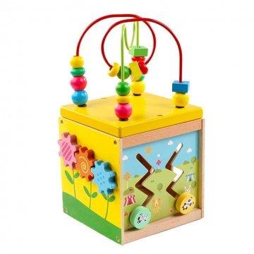 Gioco Educativo Per Bambini Multifunzione 5 In 1 A Forma Di Cubo