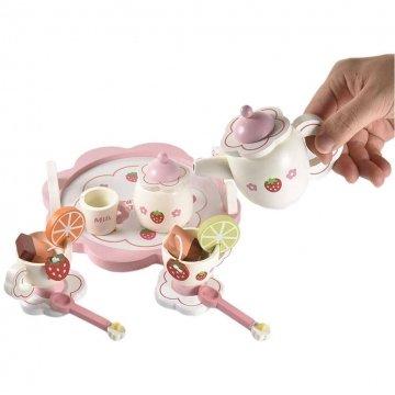 Servizio Da Te Giocattolo In Legno Per Bambine