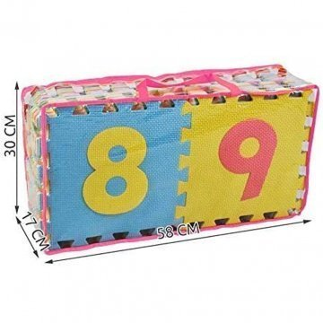 Tappeto Puzzle Per Bambini Dimesnione Confezione