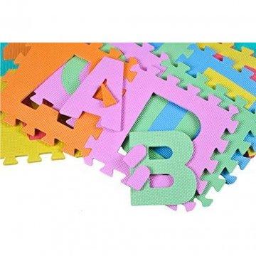 Tappeto Puzzle Per Bambini Lettere