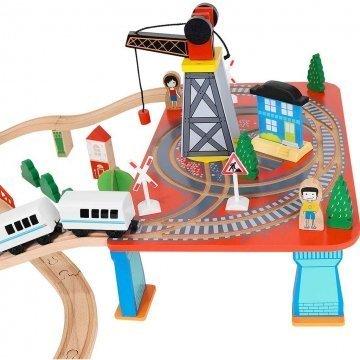 Pista Trenino In Legno Per Bambini Dettagli
