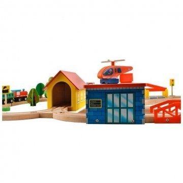 Pista Treno In Legno Per Bambini