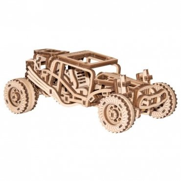 Wooden City Auto Buggy In Legno