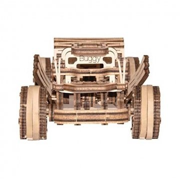 Wooden City Puzzle 3d Auto Buggy In Legno