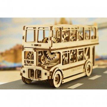 London Bus Puzzle 3d