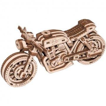 Moto Puzzle 3d Legno