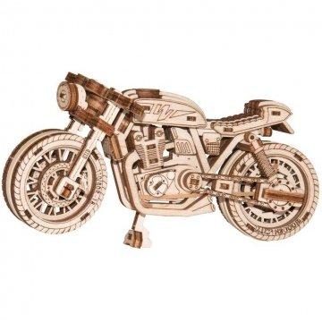 Puuzle 3d Moto Legno