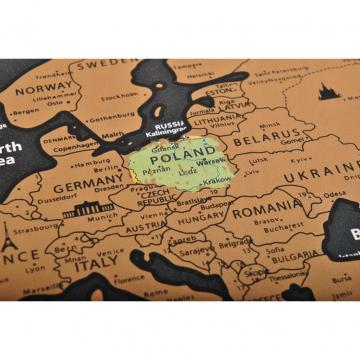Mappa Del Mondo Da Grattare Regalo