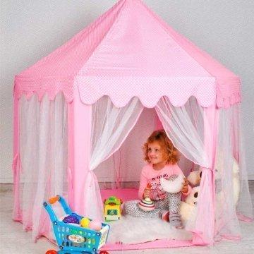Tenda Bambini Castello Principesse Rosa