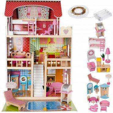 Casa Delle Bambole Con Piscina