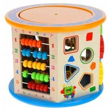 Cubo Gioco Educativo In Legno Per Bambini
