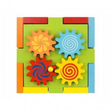 Gioco Cubo Educativo In Legno Per Bambini