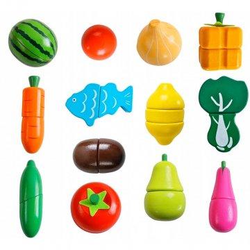 Gioco Frutta Da Tagliare In Legno Per Bambini