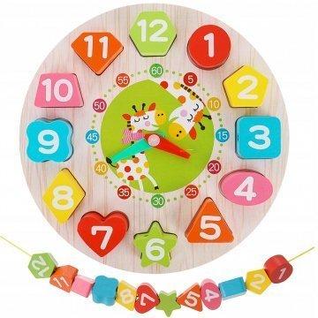 Orologio Puzzle In Legno