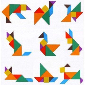 Gioco Tetris Con Tangram
