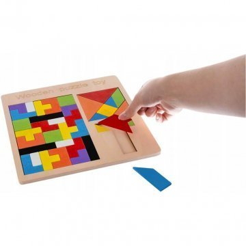 Gioco Tetris In Legno