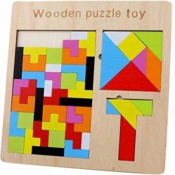 Gioco Tetris Per Bambini In Legno