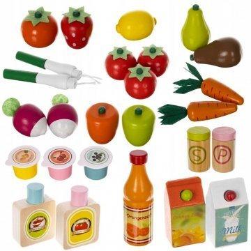 Giochi Di Imitazione Supermercato Alimenti Di Legno
