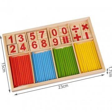 Gioco Di Matematica Montessori Gioco In Legno