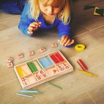 Gioco Di Matematica Montessori Gioco Per Bambini