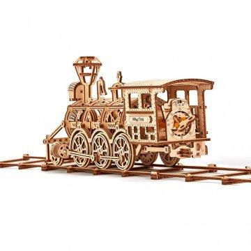 Locomotiva A Vapore Modellino Puzzle 3d