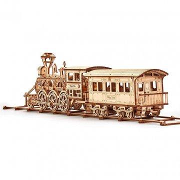 Locomotiva A Vapore Modellino Wood Trick