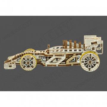 Macchinina In Legno Puzzle 3d Wooden City