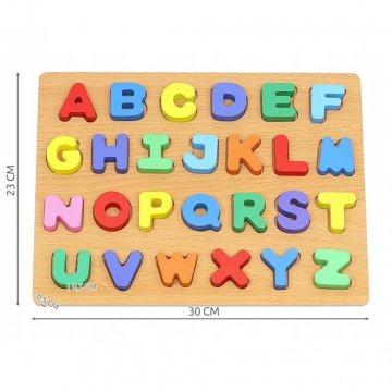 Puzzle Lettere In Legno