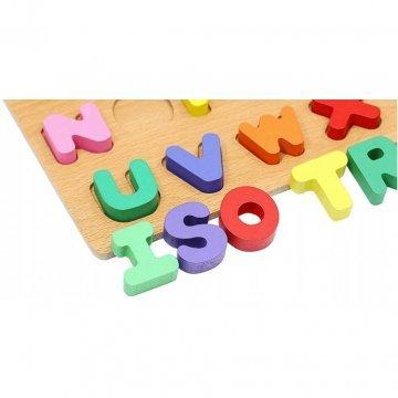 Puzzle Lettere In Legno Per Bambini