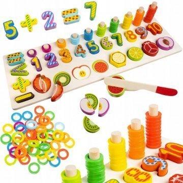 Puzzle Numeri E Frutta