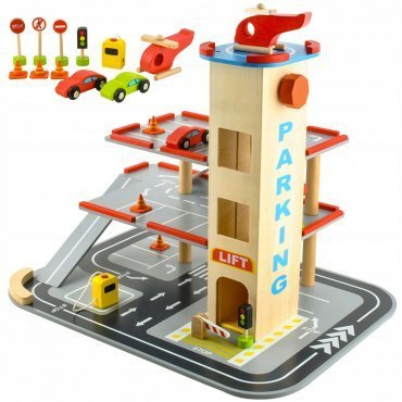 Garage Giocattolo Per Bambini