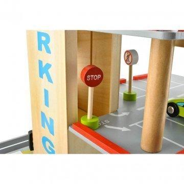 Garage Giocattolo Per Bambini Con Segnaletica