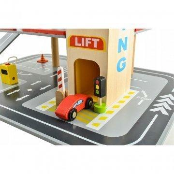 Garage Giocattolo Per Bambini In Legno