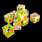 Puzzle Bambini Cubi Legno Mylearningtower
