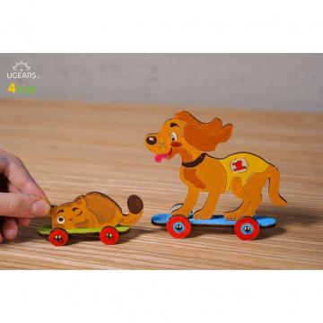 Puzzle Da Colorare Per Bambini Cane E Gatto