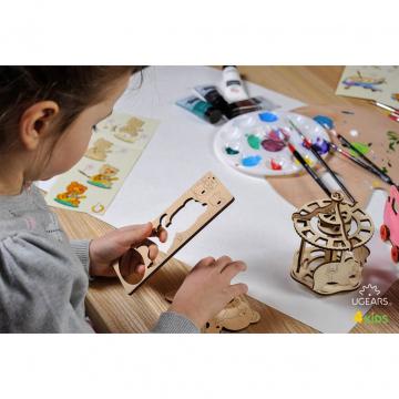Puzzle In Legno Per Bambini Orsetto