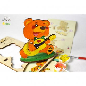 Puzzle In Legno Per Bambini Orso