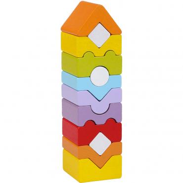 Gioco Della Torre In Legno Per Bambini