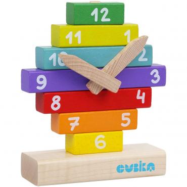 Orologio Per Bambini Da Costruire In Legno Cubika