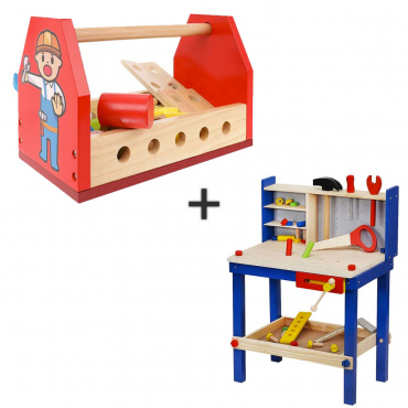 Giochi Di Lavoro Banchetto Per Bambini Cassetta Degli Attrezzi