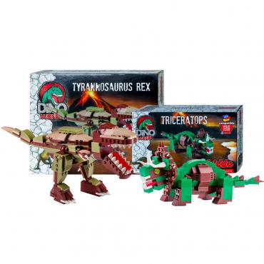 T Rex Contro Triceratopo Set Lego Compatibili.jpg