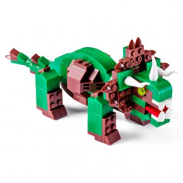 Triceratopo Lego Compatibile 4kiddo 206 Mattoncini.jpg